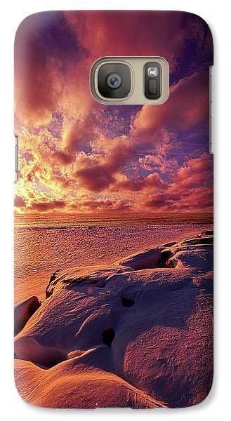 Galaxy Case featuring the photograph The Return by Phil Koch