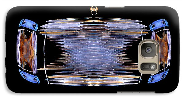 Galaxy Case featuring the digital art The Ride by R Thomas Brass