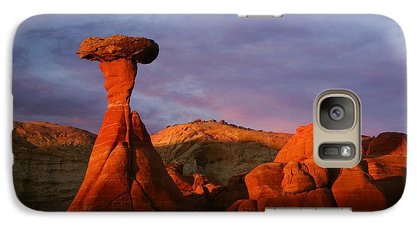 Galaxy Case featuring the photograph The Rim Rocks by Keith Kapple