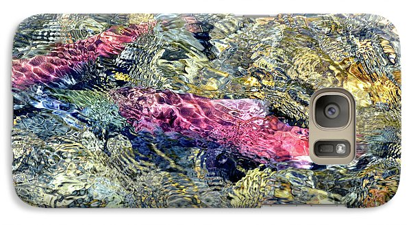 Galaxy Case featuring the photograph The Ripple Effect by David Lawson