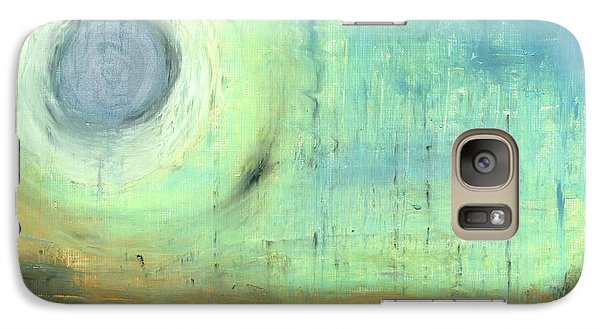 Galaxy Case featuring the painting The Rising Sun by Michal Mitak Mahgerefteh