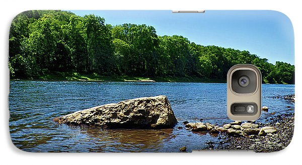Galaxy Case featuring the photograph The River's Edge by Mark Miller