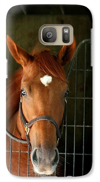Galaxy Case featuring the photograph The Roan by Cathy Harper
