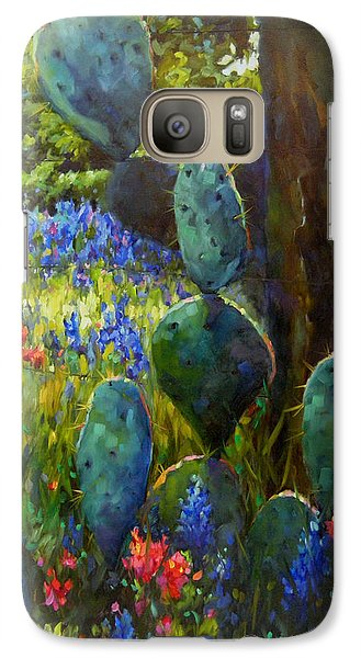 Galaxy Case featuring the painting The Road Less Travelled by Chris Brandley