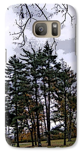Galaxy Case featuring the photograph The Road Not Taken by Skyler Tipton