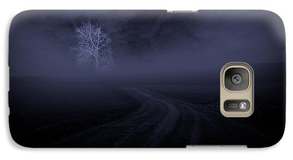 Galaxy Case featuring the photograph The Road by Robert Geary