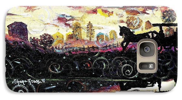 Galaxy Case featuring the painting The Road To Home by Shana Rowe Jackson