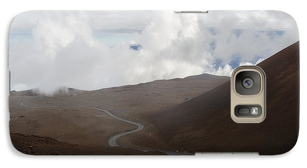 Galaxy Case featuring the photograph The Road To The Snow Goddess by Ryan Manuel