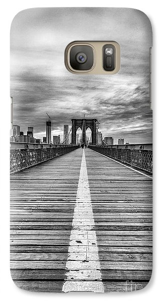 The Road To Tomorrow Galaxy S7 Case by John Farnan