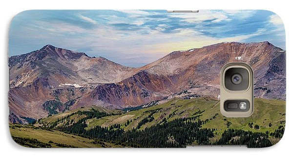 Galaxy Case featuring the photograph The Rockies by Bill Gallagher