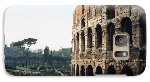 Galaxy Case featuring the photograph The Roman Colosseum by Marna Edwards Flavell