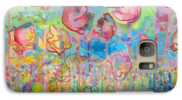 The Rose Garden, Love Wins Galaxy Case by Kimberly Santini