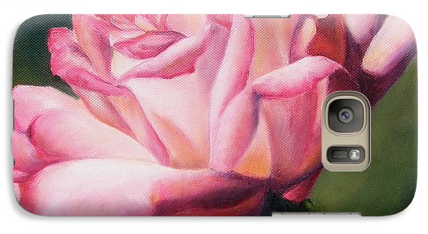 Galaxy Case featuring the painting The Rose by Lori Brackett