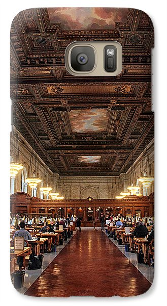 Galaxy Case featuring the photograph The Rose Reading Room II by Jessica Jenney