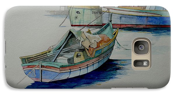 Galaxy Case featuring the painting The San George by Ray Agius