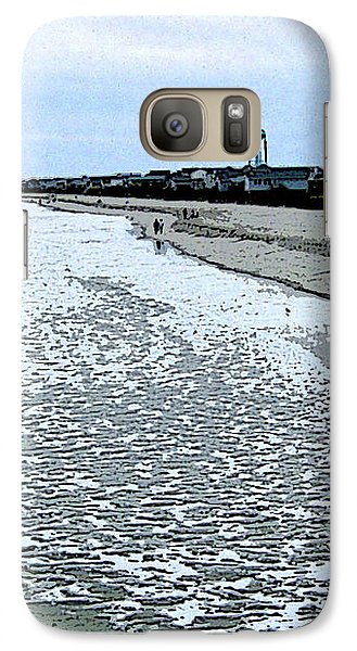 Galaxy Case featuring the photograph The Seacoast by Skyler Tipton