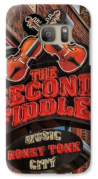 Galaxy Case featuring the photograph The Second Fiddle Nashville by Stephen Stookey