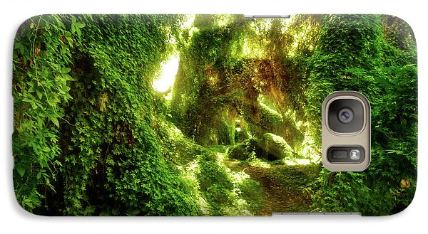 Galaxy Case featuring the photograph The Secret Garden, Perth by Dave Catley