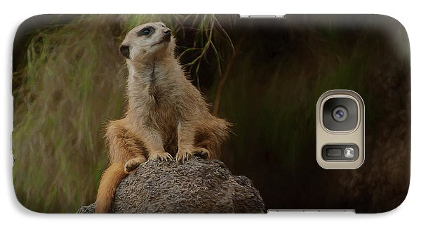 Galaxy Case featuring the photograph The Sentinel by Travis Burgess