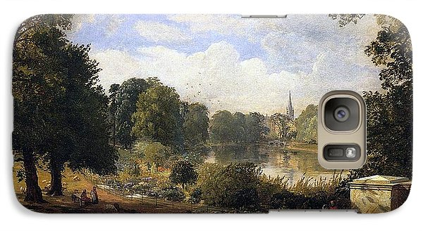 The Serpentine Galaxy S7 Case by Jasper Francis Cropsey