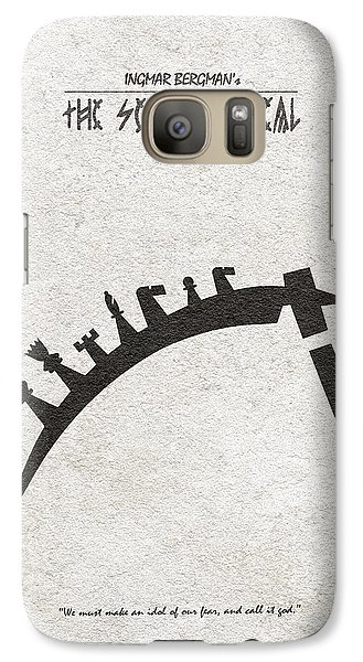 Galaxy Case featuring the digital art The Seventh Seal Aka Det Sjunde Inseglet by Ayse Deniz