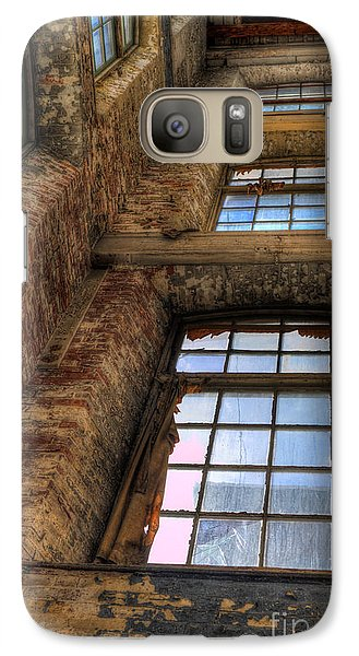 Galaxy Case featuring the photograph The Shaft by David Bishop