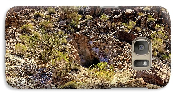 Galaxy Case featuring the photograph The Shafted Mine by Robert Bales
