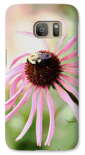 Galaxy Case featuring the photograph The Sharing Game by Deborah  Crew-Johnson