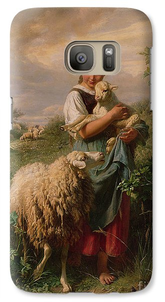 The Shepherdess Galaxy S7 Case