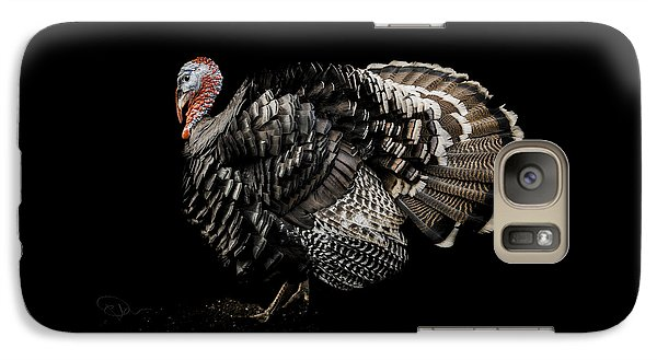 Turkey Galaxy S7 Case - The Showman by Paul Neville