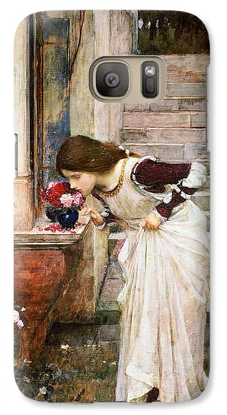 Rose Galaxy S7 Case - The Shrine by John William Waterhouse