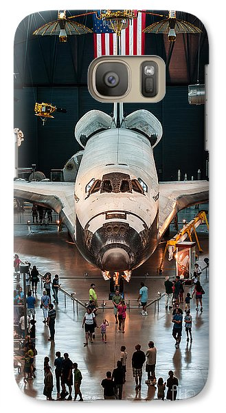 Galaxy Case featuring the photograph The Shuttle by Jim Moore