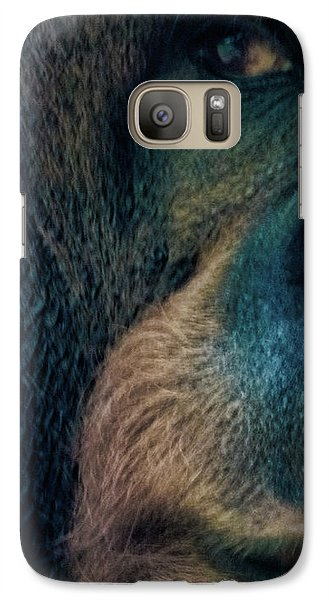 The Shy Orangutan Galaxy S7 Case by Martin Newman