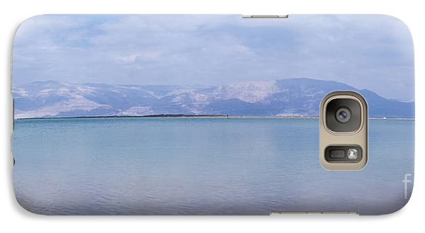Galaxy Case featuring the photograph The Silence Of The Dead Sea by Yoel Koskas