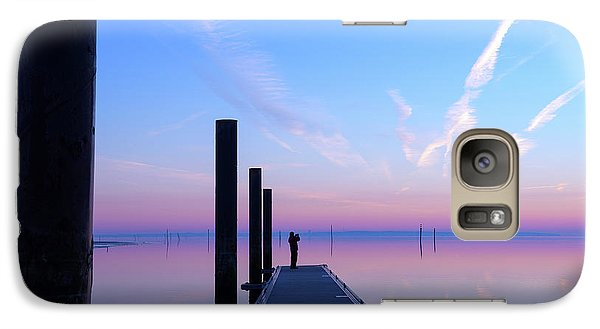 Galaxy Case featuring the photograph The Silent Man by Thierry Bouriat
