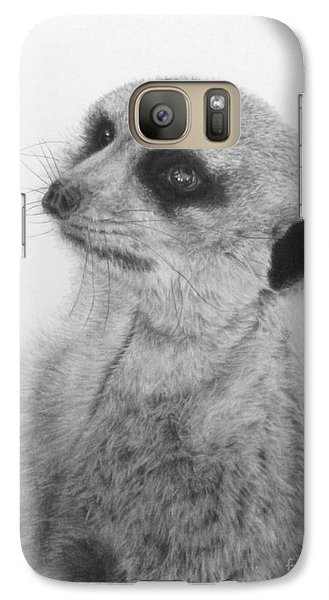 Galaxy Case featuring the painting The Silent Sentry by Jennifer Watson