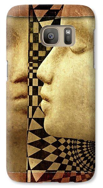 Galaxy Case featuring the photograph The Silent Window by Jeff  Gettis