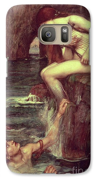 Extinct And Mythical Galaxy S7 Case - The Siren by John William Waterhouse