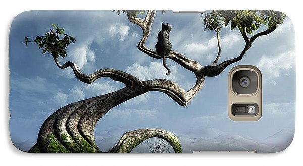 Butterfly Galaxy S7 Case - The Sitting Tree by Cynthia Decker