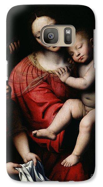 Religion Galaxy S7 Case - The Sleeping Christ by Bernardino Luini