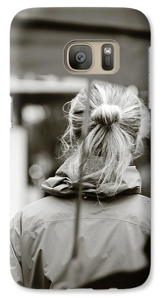 Galaxy Case featuring the photograph The Smell Of Your Hair by Empty Wall