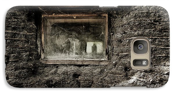 Galaxy Case featuring the photograph The Sod House by Brad Allen Fine Art