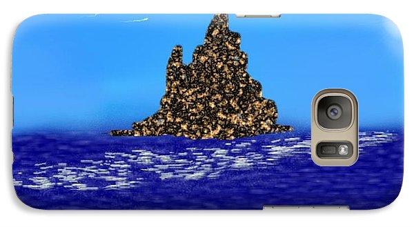 Galaxy Case featuring the digital art The Solitude by Dr Loifer Vladimir