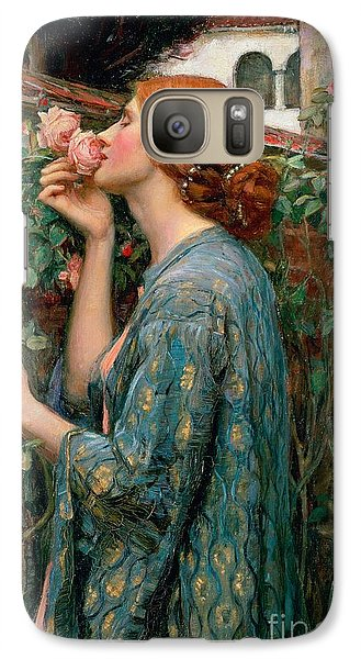 Flowers Galaxy S7 Case - The Soul Of The Rose by John William Waterhouse