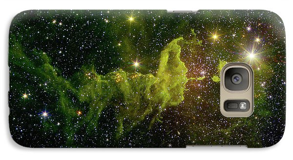 Galaxy Case featuring the photograph The Spider And The Fly Nebula by NASA JPL - Caltech