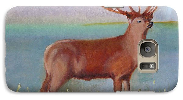 Galaxy Case featuring the painting The Stag by Rod Jellison