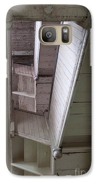 Galaxy Case featuring the photograph The Stairs Verticle by David Bishop