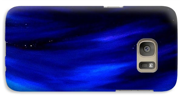 Galaxy Case featuring the painting The Star Gazer by Scott Wilmot