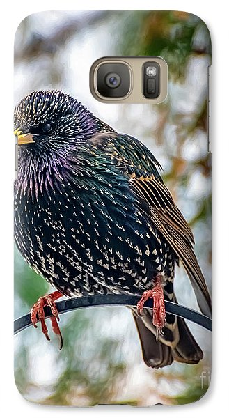 Starlings Galaxy S7 Case - The Starling by Adrian Evans