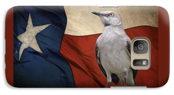 Mockingbird Galaxy S7 Case - The State Bird Of Texas by David and Carol Kelly